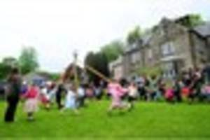 Bank Holiday fun events across Derbyshire are enjoyed by hundreds